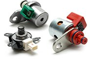 Solenoids, Sensors, Switches, Control Units
