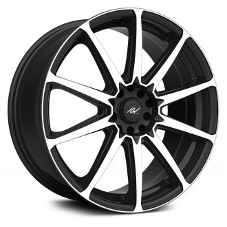 ICW RACING® - BANSHEE Gloss Black with Machined Face