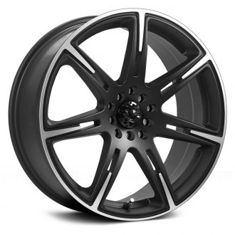 ICW RACING® - KAMIKAZE Black with Machined Accents and Lip
