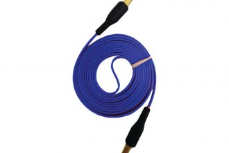 iEssentials® - 3.3' 3.5mm Flat Auxiliary Cable (Blue)