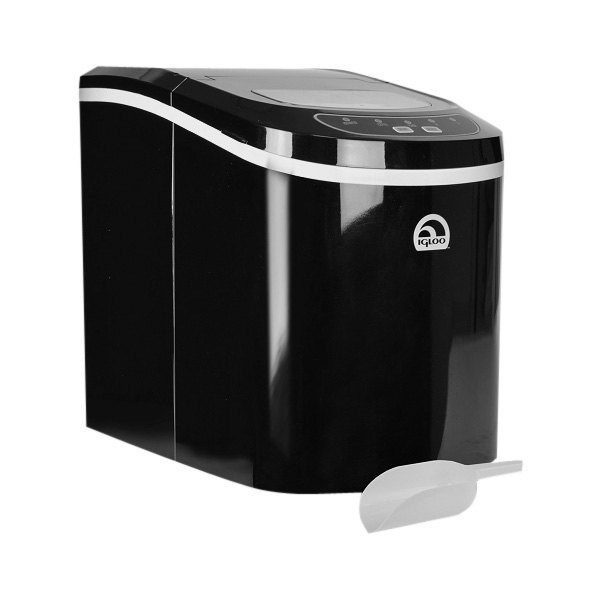 Igloo Ice 101-Black Countertop Ice Maker Black : Igloo? ICE101-BLACK-RC - Portable Black Countertop Ice Maker