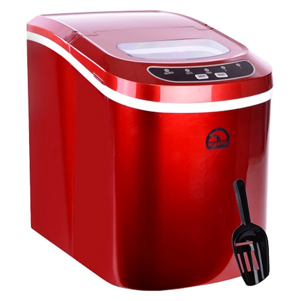 Reviews On Igloo Countertop Ice Maker : Igloo? ICE102RNB-RC - Portable Red Countertop Ice Maker