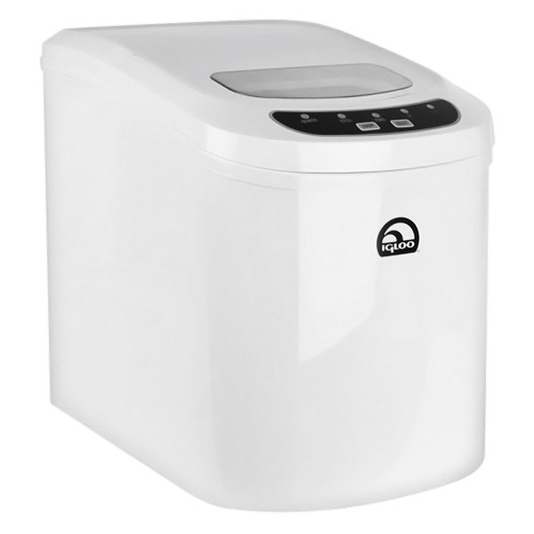 Igloo? ICE102C-WHITE-RC - 2nd Style White Counter Top Ice Maker