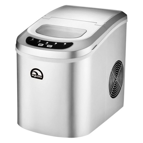 Igloo? ICE102SILVER - 2nd Style Silver Counter Top Ice Maker
