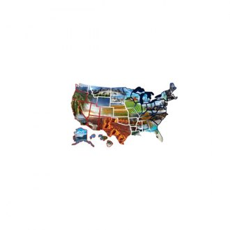 Illusions® - United State Peel n' Stick Fun Expressions Decal