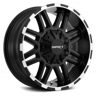 IMPACT OFF ROAD® - 262BME INTERCEPTOR Black with Machined Edges