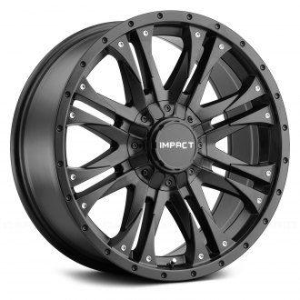 IMPACT OFF ROAD® - 420BLK RAIDER Satin Black