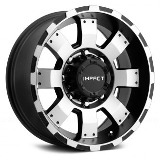 "IMPACT OFF ROAD® - 505BMF 17"" STYLE DESTROYER Black with Machined Face"