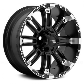 INCUBUS® - CRUSHER Flat Black with Machined Lip