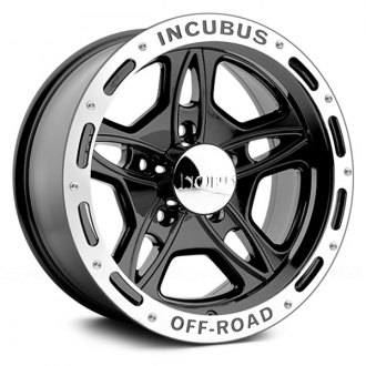 INCUBUS® - OFF-ROAD Gloss Black with Machined Flange