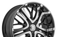 "INCUBUS® - PARANORMAL Gloss Black with Machined Face (22"" x 9.5"", +15 Offset, 5x114.3 Bolt Pattern, 74.1mm Hub)"