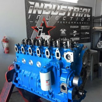 Industrial Injection® - Cummins Street Long Block Engine
