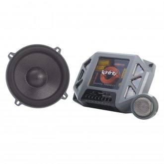 "Infinity® - 6-1/2"" 2-Way Perfect™ Extreme-Performance 400W Component Speaker System"