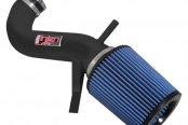 Injen® - PF Series Power-Flow Air Intake System w/o Power-Flow Box - Wrinkle Black