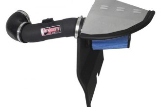 Injen® PF7013WB - PF Series Power-Flow Air Intake System (3.6L, Wrinkle Black)