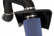 Injen® - PF Series Diesel Air Intake System - Wrinkle Black