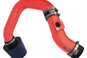 Injen® - SP Series Cold Air Intake System - Wrinkle Red