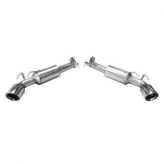 Injen® - Dual Axle-Back Exhaust System