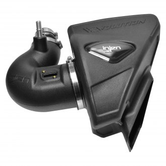 Injen® - Evolution Series Rotomolded Black Cold Air Intake System with Blue Filter