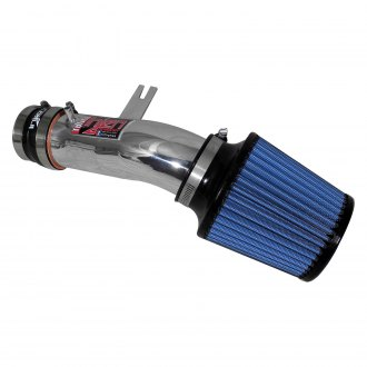 Injen® - IS Series Polished Silver Short Ram Air Intake System with Blue Filter