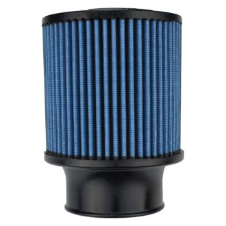 Injen® - SuperNano-Web™ Round Straight Blue Air Filter