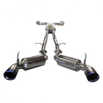 Injen® - Dual Stainless Steel Cat-Back Exhaust System