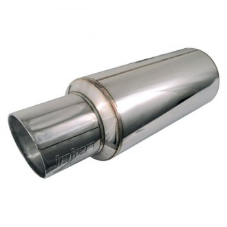 Injen® - Stainless Steel Muffler with Resonated Tip