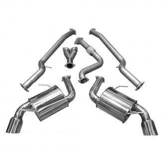 Injen® - Stainless Steel Cat-Back Exhaust System with Split Rear Exit