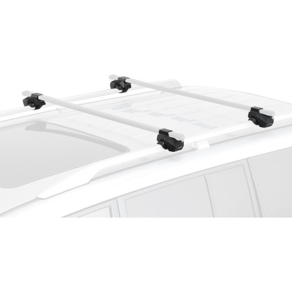 INNO IN-AR Stays for Most Traditional Factory Rack Systems with Raised Side Rails Set of 4 Black