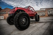 Custom Jeep Wrangler on 40» offroad tires