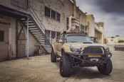 Lifted Toyota Tacoma on 35» wheels