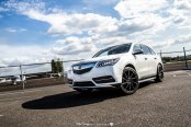 Luxury Crossover Acura MDX on Custom Rims