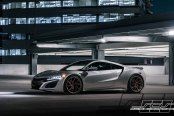 Royal Tuning for Silver Acura NSX