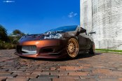 Hate It or Love It: Eye-Catching Acura RSX on Gold Avant Garde Wheels