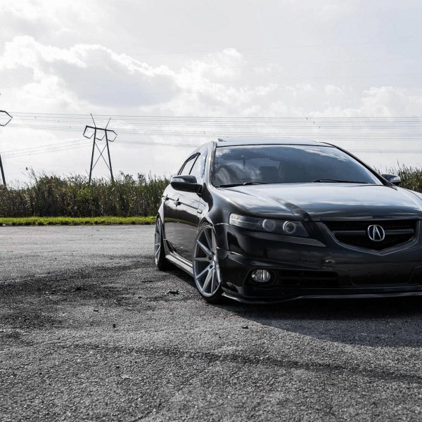 Custom Acura TL Images Mods Photos Upgrades CARiDcom - 2005 acura tl front lip