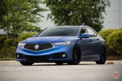 Born to Drive, Customized to Impress: Matte Blue Acura TLX with Stunning Accessories