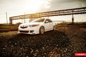 Extreme Transformation of Acura TSX with Exterior Accessories