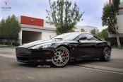 Vellano Wheels Do the Magic on Black Aston Martin DB9
