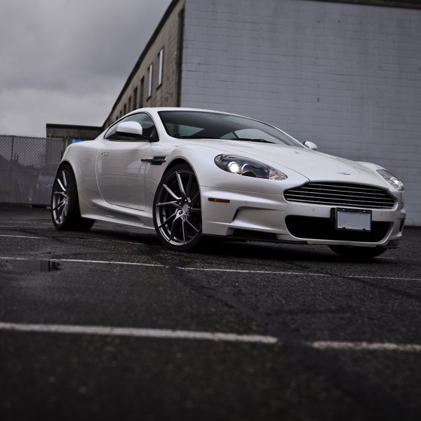 Custom aston martin images mods photos upgrades carid gallery white aston martin dbs with custom projector headlights photo by pur wheels sciox Images