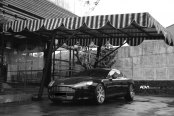 Black and White Perfection - Aston Martin Rapide With ADV1 Wheels