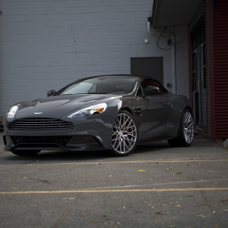 Custom aston martin images mods photos upgrades carid gallery gray aston martin vanquish with aftermarket headlights photo by pur wheels sciox Images