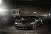 Handsome Aston Martin Vantage Sitting Low on Air Suspension