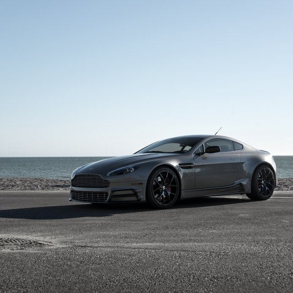 Custom aston martin images mods photos upgrades carid gallery gray aston martin vantage with custom billet grille photo by zito wheels sciox Images