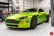 Artistic Customization for Lime Green Aston Martin Vantage