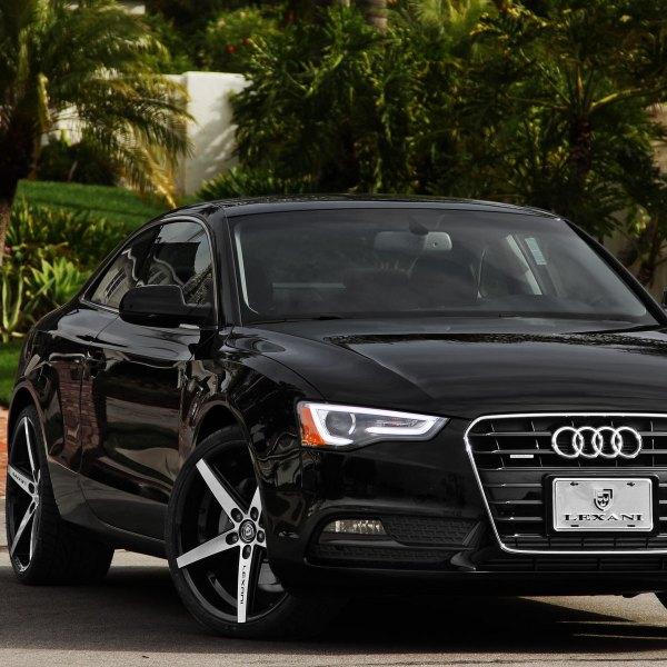 black audi a5 2014. black audi a5 on lexani r4 wheels photo by 2014