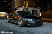 Stance Is Everything: Black Audi A6 with Custom Parts