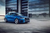 OEM+ Audi Q3 Quattro on Unique Vossen LC101 Custom Wheels