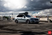 Gray Audi Q5 Customized for Active Lifestyle