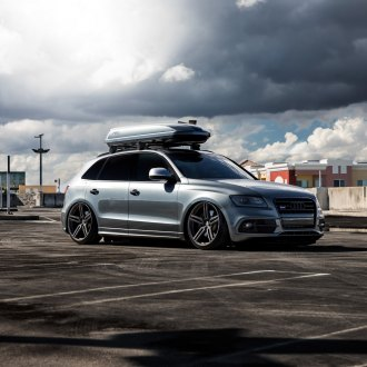 Gray Audi Q5 With Roof Rack Photo By Vossen