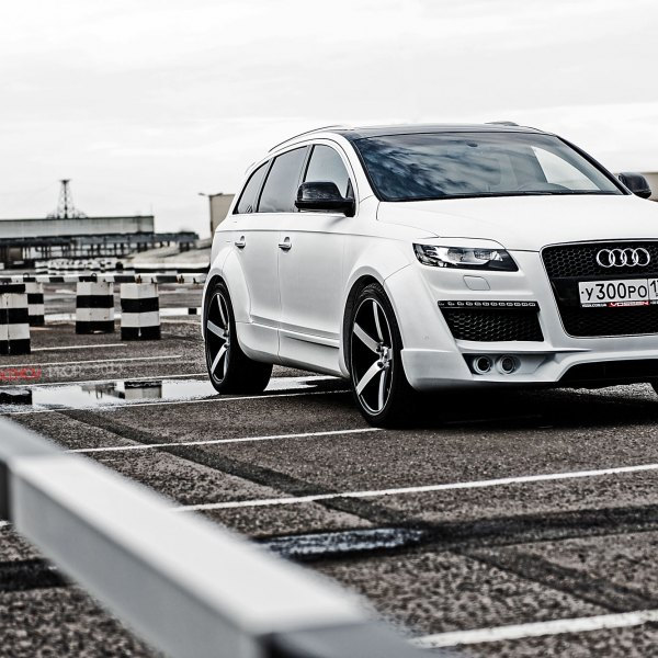 Custom 2008 Audi Q7 Images Mods Photos Upgrades Carid Com Gallery
